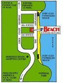 Le Beach Map