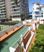 Garden apartment view