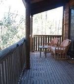 Woolshed Cabins Verandah