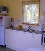 Beechworth Cabins Kitchen