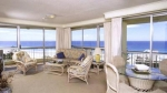 Surfers Beach Side Apartments Deluxe Living Room With Ocean Views