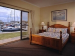 Marina Hotel And Apartmemts Master Bedroom With Views