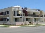 Parkside apartments building