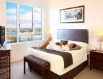 Aspect Apartments Bedroom