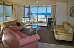 foreshore beachfront living room
