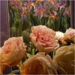 Arabella Peonies and Iris's