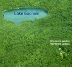 Aerial view of Chambers Wildlife Rainforest Lodges
