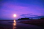 Full moon over Kewarra Beach Resort