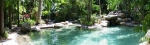 Panoramic view of main lagoon pool at Kewarra Beach Resort