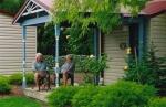 Chalet Sunken Garden Area