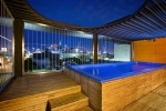 Rooftop Pool @ Night