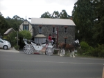 Horse & Carriage Pickup from outside Reception