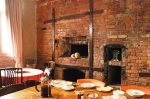 1850 original bakery ovens in Breakfast Room
