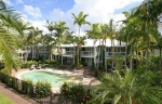 Coral Beach Noosa Resort features spacious 2 & 3 bedroom accommodation set among landscaped tropical surrounds