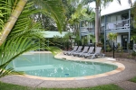 Coral Beach Noosa Resort - resort facilities include three pools, three spas. two saunas & a full size tennis court