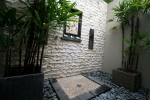 Balinese outdoor bathroom