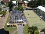 Tennis Court and Indoor Pool