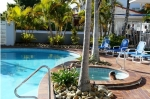 Swimming Pool, heated Spa and BBQ complex