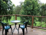 Tamborine Gardens Cottage Balcony View