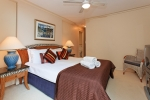 Master bedroom 2 Bed ocean side apartment