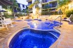 Come and Enjoy Aussie Resort Pool at night