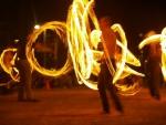 Enjoy the Fire Dancing at Mowbray Park Burleigh Heads