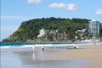 Take a Stroll along Burleigh Heads Beach