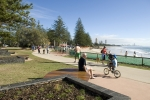 Pathways and Picnic Areas run along the Foreshore