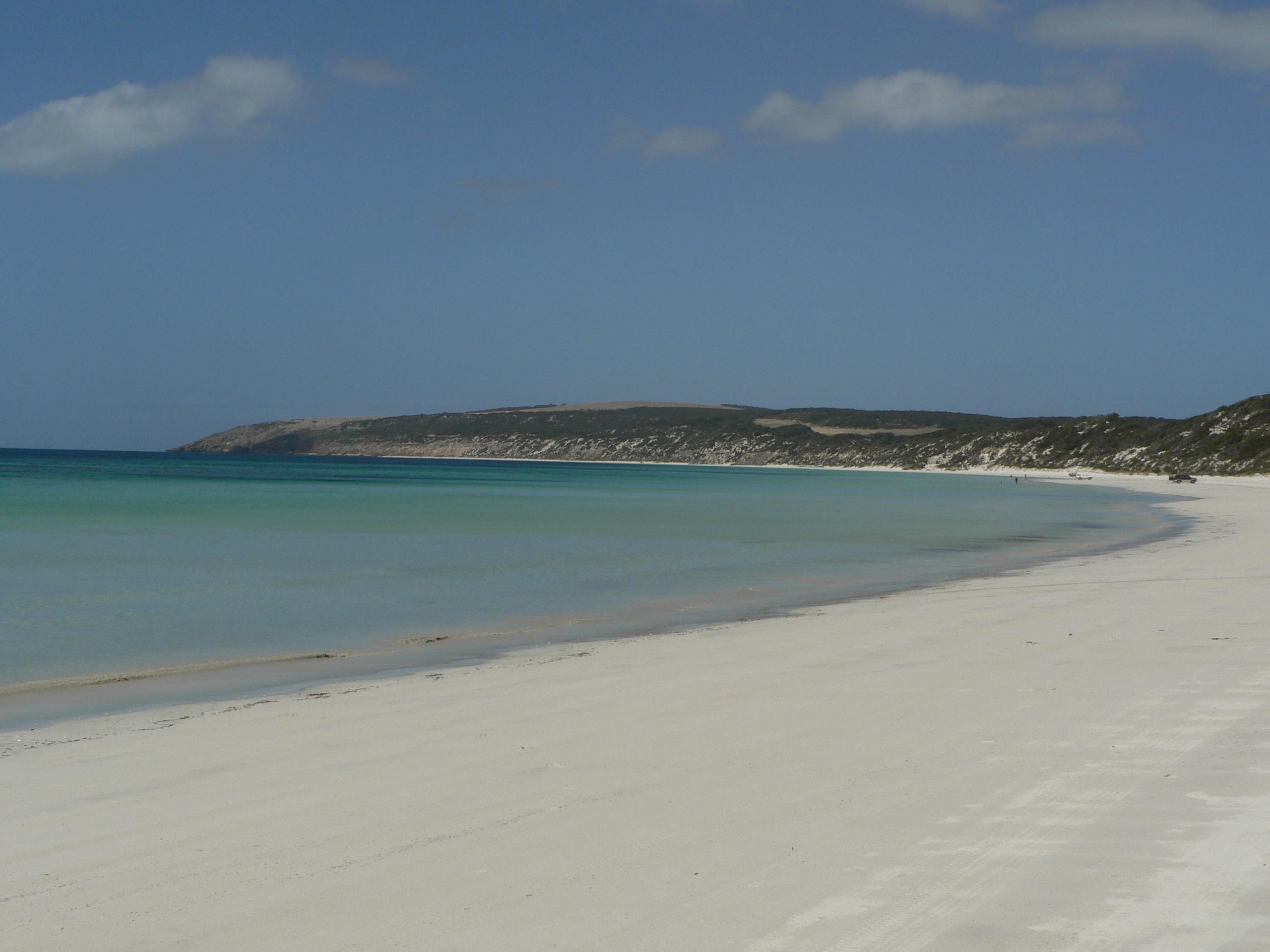 Emu Bay beach