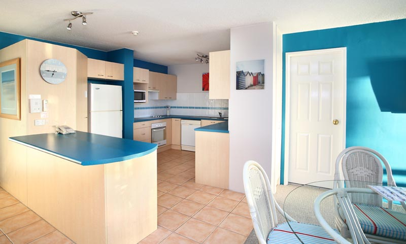 Gemini Resort One Bedroom Kitchen