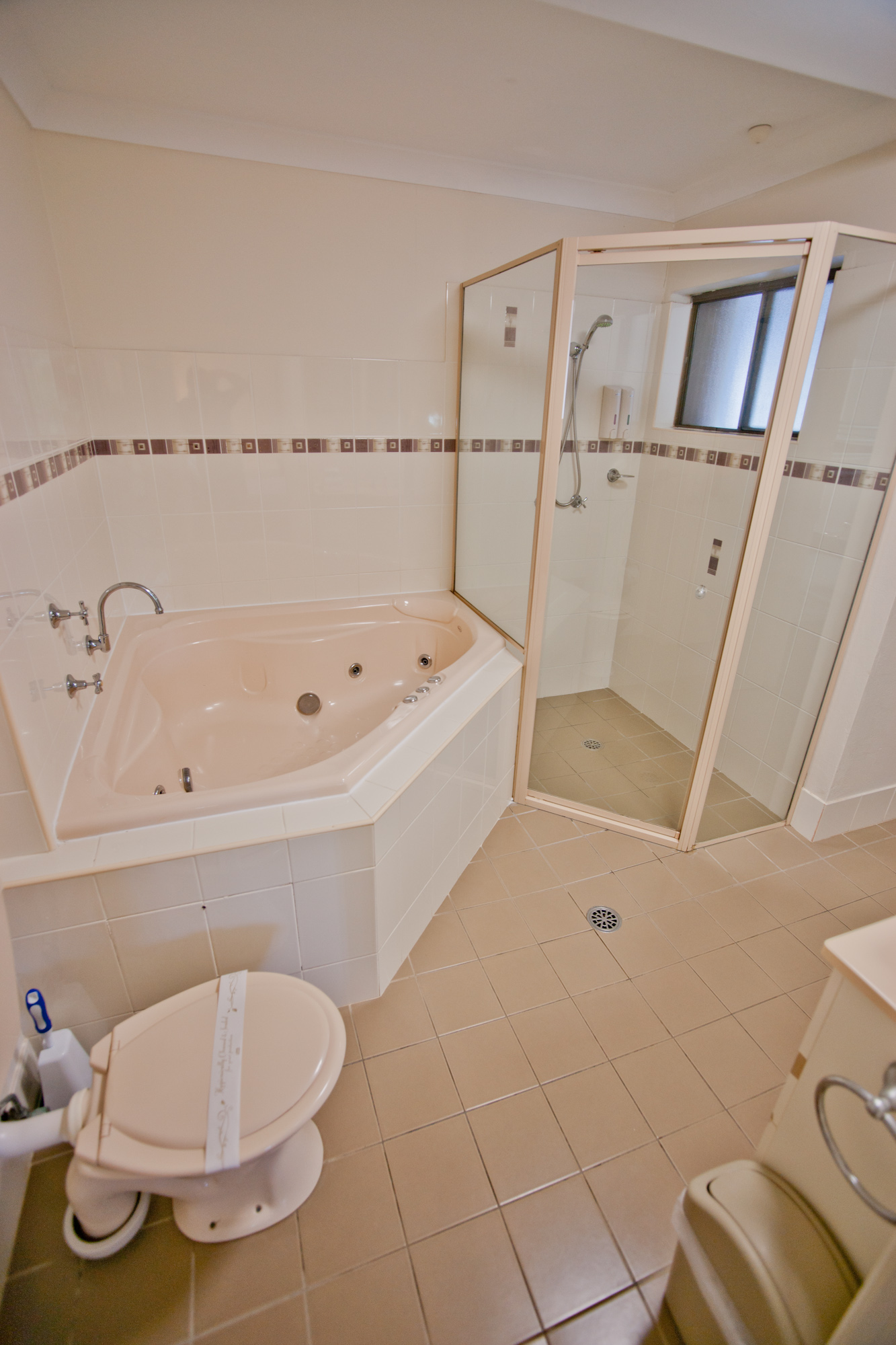 Two bedroom spa apartment
