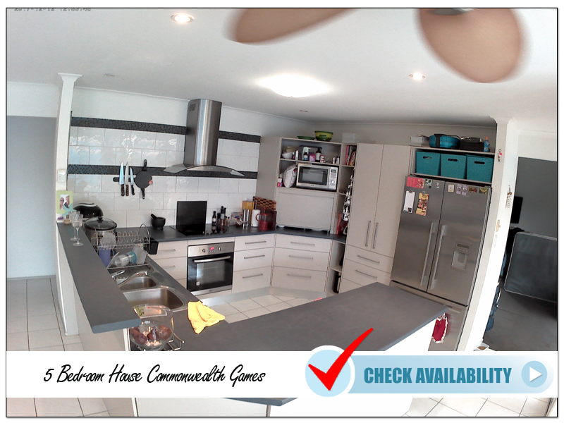 5 Bedroom House Commonwealth Games Kitchen