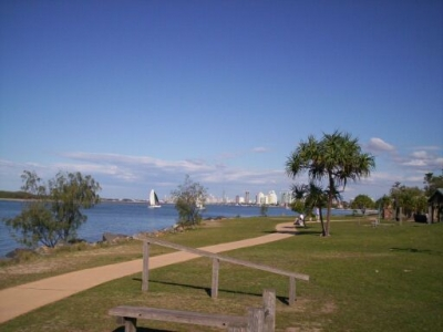 southport gold coast queensland. The Gold Coast Broadwater is