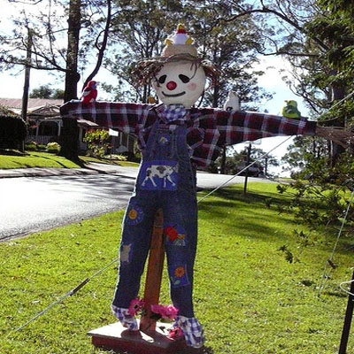 Tamborine Mountain Scarecrow Festival Accommodation