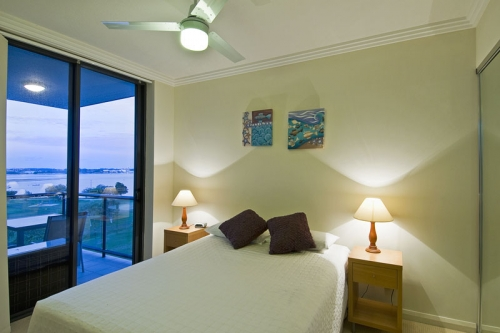Spacious bedrooms with private balcony