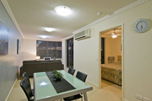 Beautifully appointed apartments with quality fittings throughout